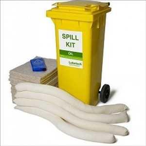 Kits de déversement d'hydrocarbures et de produits chimiques