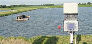 Système de surveillance de la qualité de l'eau en ligne