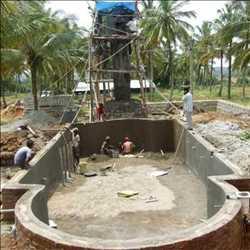 Conception de construction de piscine