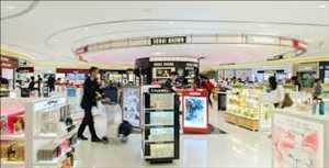 Commerce de détail à l'aéroport Marché