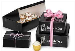 Emballage de confiserie et de boulangerie Marché
