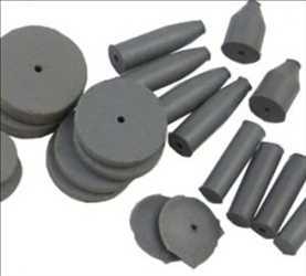 Abrasifs liés au caoutchouc
